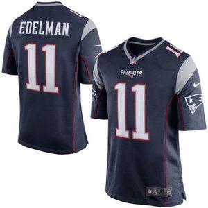 Men's New England Patriots Julian Edelman Jersey